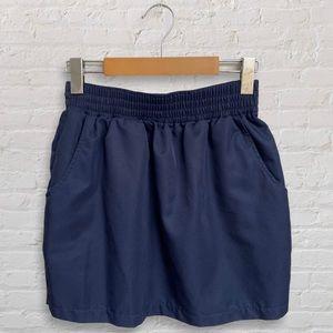 American Apparel - Navy Mini Skirt